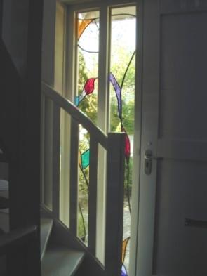 Zijlichten naast deur
