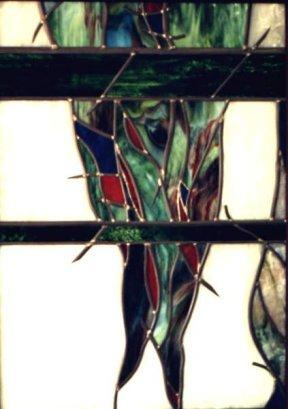 Wanddecoratie Stalagtiet van glas in lood