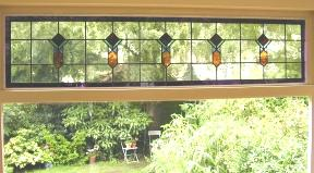 Bovenlicht in de stijl passend bij de woning