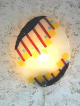 wandlampje streep