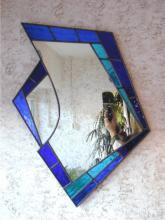 blauwe spiegel