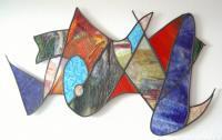 Wandobject glas in lood 1302